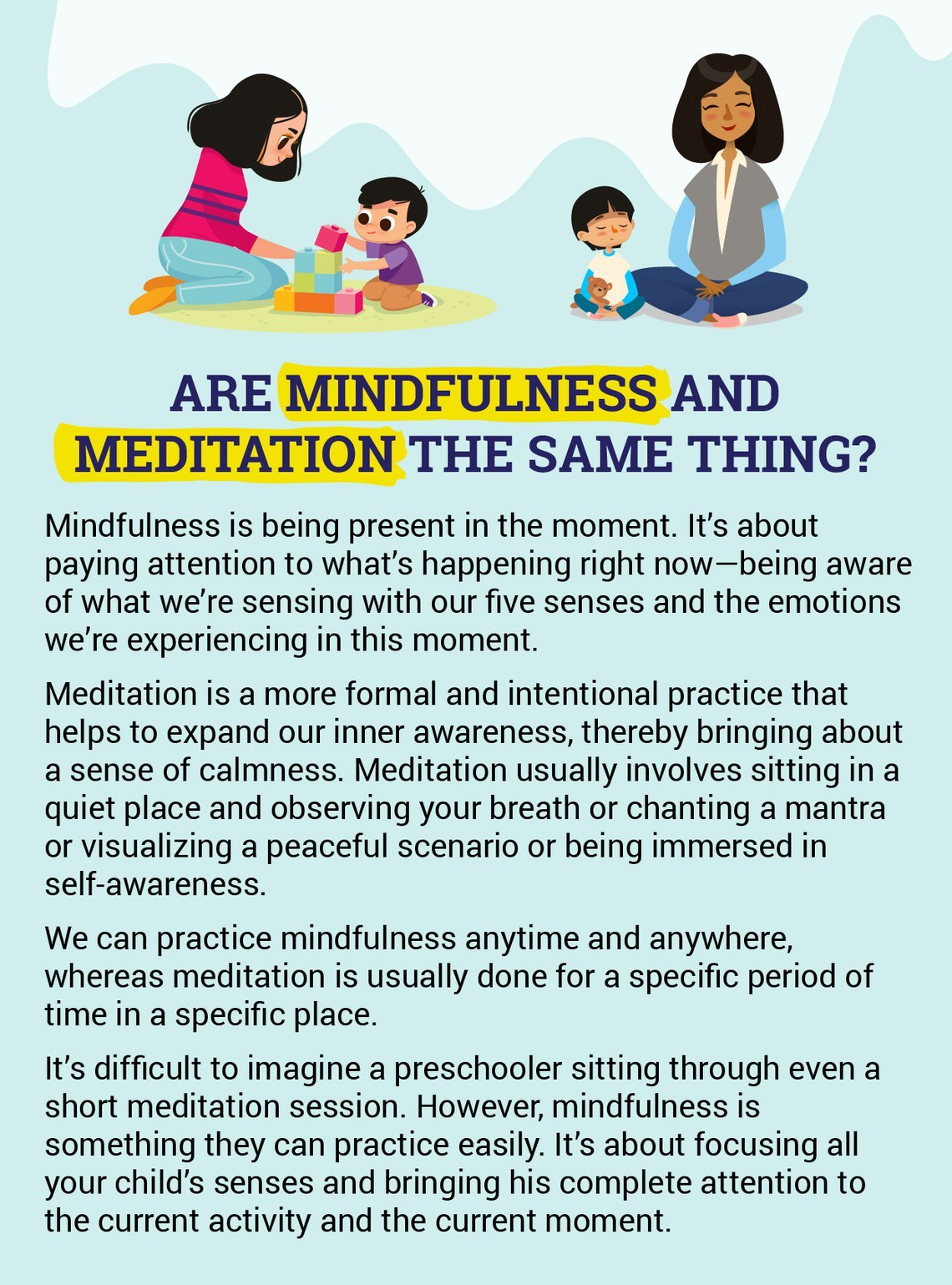 Mindfulness For Young Children: Benefits And Games
