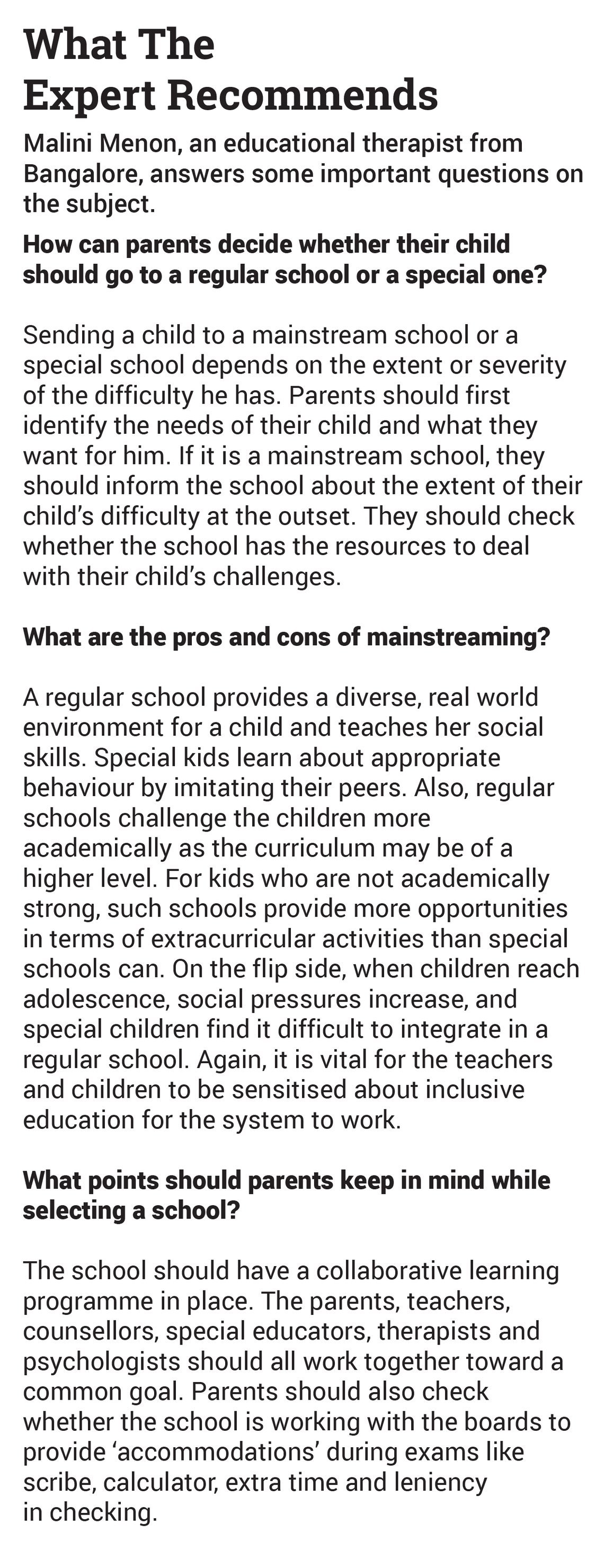 Tips For Choosing The Best School For Your Special Needs Child