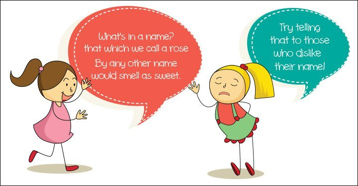 My Child Hates Her Name!
