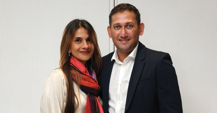 To be a champion, you need attitude and focus: Ajit and Fatima Agarkar