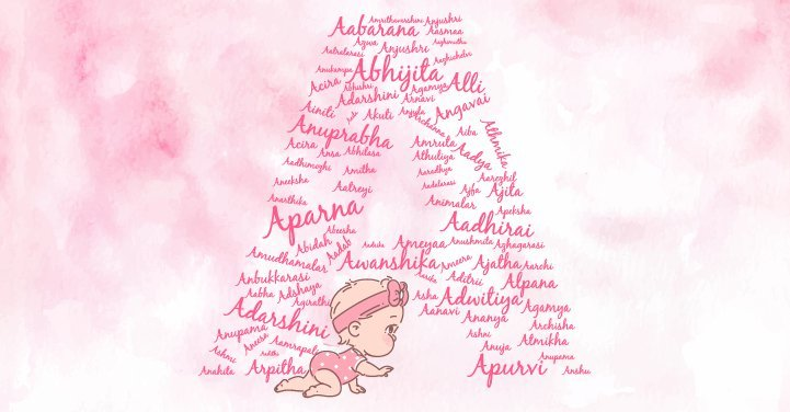 Baby girl names starting with the letter A
