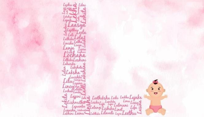 Baby girl names starting with the letter L