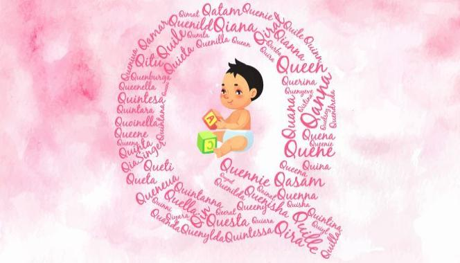 Baby girl names starting with the letter Q