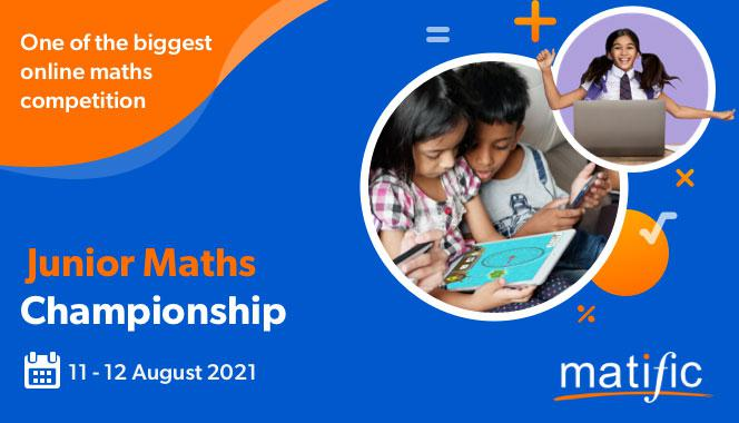Calling young minds to showcase their math skills at Matific's Junior Maths Championship