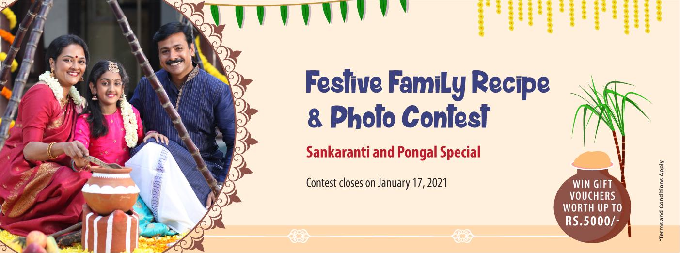 Contest Alert! - Festive Family Recipe & Photo Contest