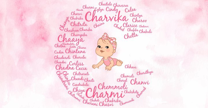 Baby girl names starting with C