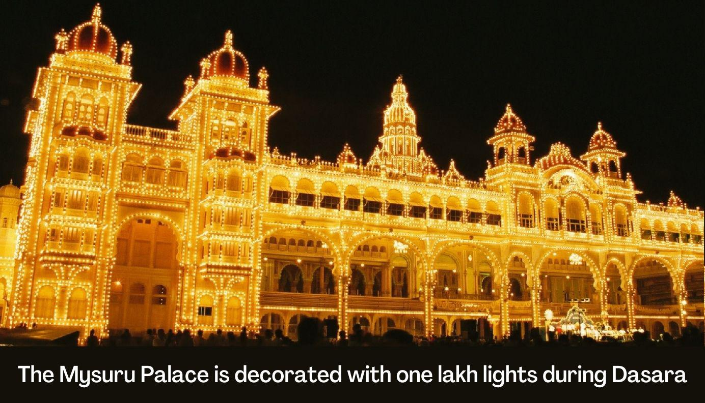 Grand celebrations and rich traditions: Dasara is a festival that brings families together