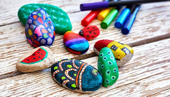 Pebble painting for kids: A great way to keep your child creatively engaged