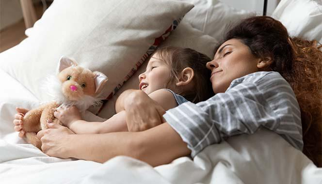 Are you co-sleeping with your child? Here are some pros and cons your should be aware of